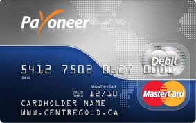 kartu debit payoneer gratis